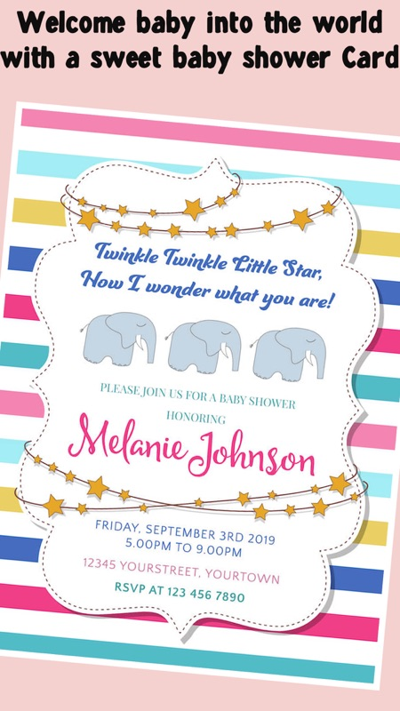 Baby Shower Invitation Cards Free Online Game Hack And