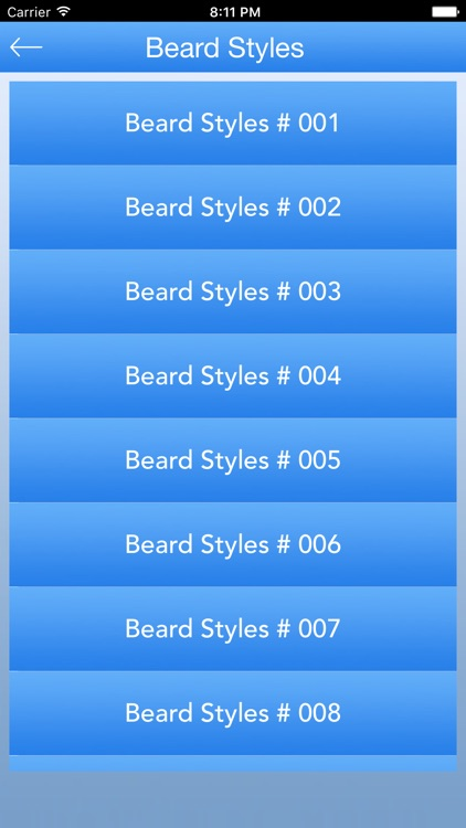 Beard Styles - Mens Styles screenshot-2