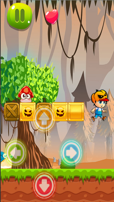 Zombies Jungle Adventure - Jump In Mushroom World screenshot three