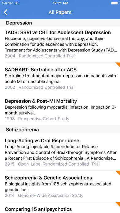 Psych Journal Club screenshot two