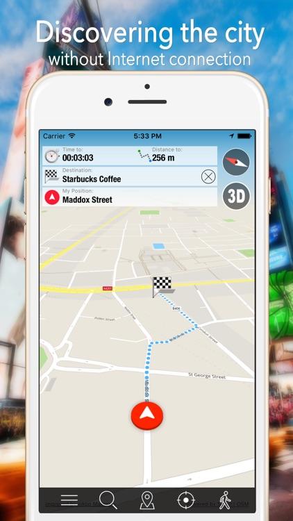 Reykjavik Offline Map Navigator and Guide