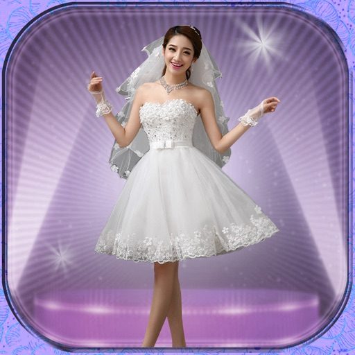 Wedding dress up fashion salon virtual makeover game for Virtual try on wedding dress
