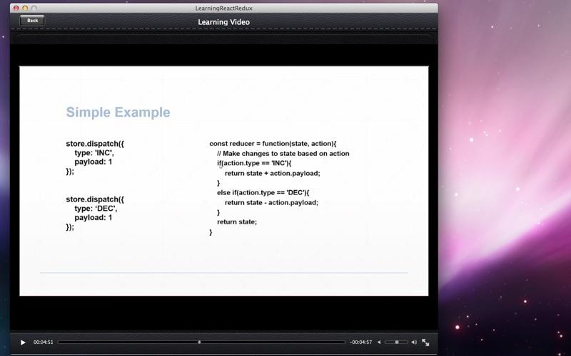 Learning React Redux screenshot 3