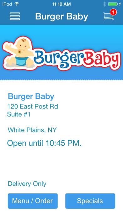 Burger Baby screenshot one