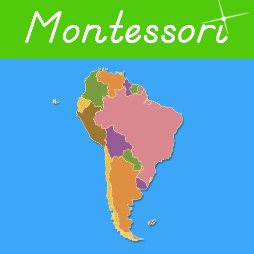 South America - Montessori Geography icon