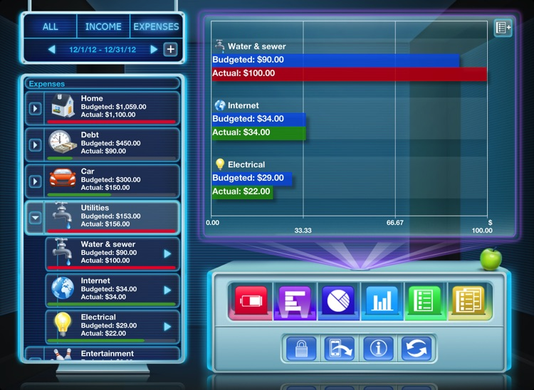 Budgets for iPad Free screenshot-1