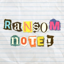 Ransom Note Stickers