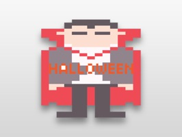 Pixel Halloween Stickers for iMessage is a fun stickers pack for iMessage