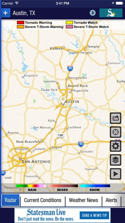 Austin American-Statesman Weather