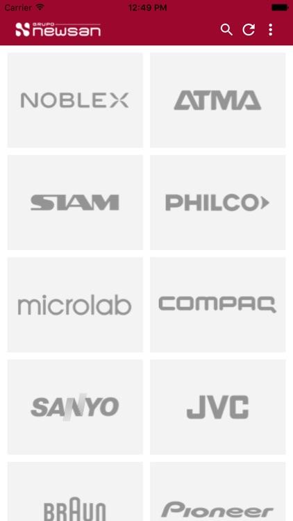 Catalogo de productos Newsan