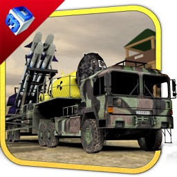 Nuclear Bomb Transport Truck & Trucker Driver Game