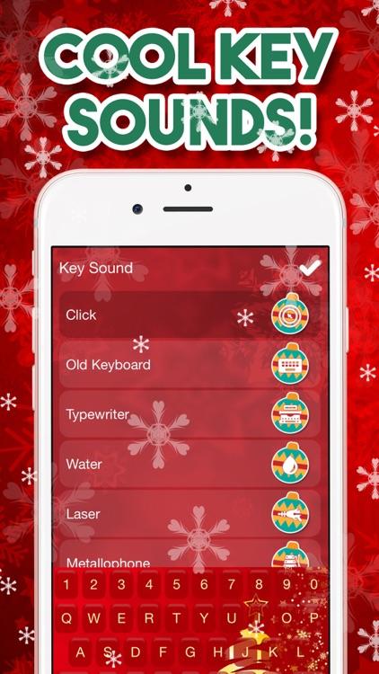 Christmas Keyboard – Xmas Themes & Emoji screenshot-4