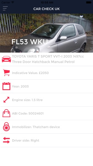 Car Check Uk On The App Store