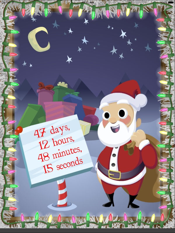 the sequel to the best selling christmas app sleeps to christmas is finally here countdown to christmas with all new animated christmas characters and a - Best Selling Christmas Songs