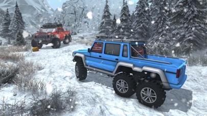雪驾驶模拟器-6 x 6 号公路卡车比赛 App 截图
