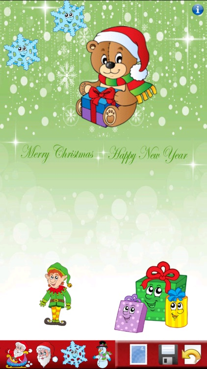 Christmas Sticker Book! by Peep Software