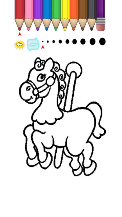 Kids Coloring Book - Misaka screenshot four