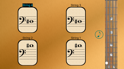 Bass Fretboard Notes