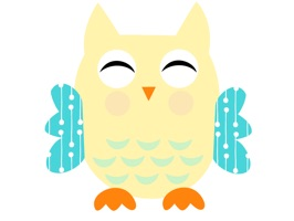 These owls can add some color and fun to your conversations
