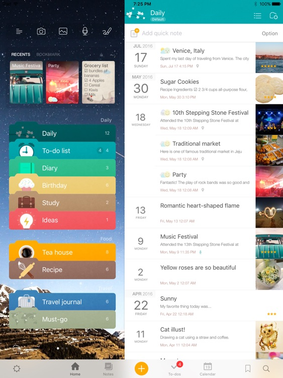 Awesome Note 2 for iPad (+To-do/Calendar/Task)