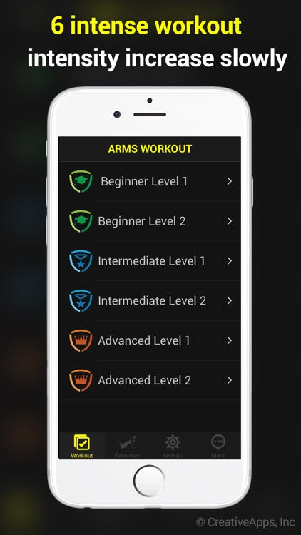 30 Day Toned Arms Pro ~ Perfect Workout For Arms screenshot-3