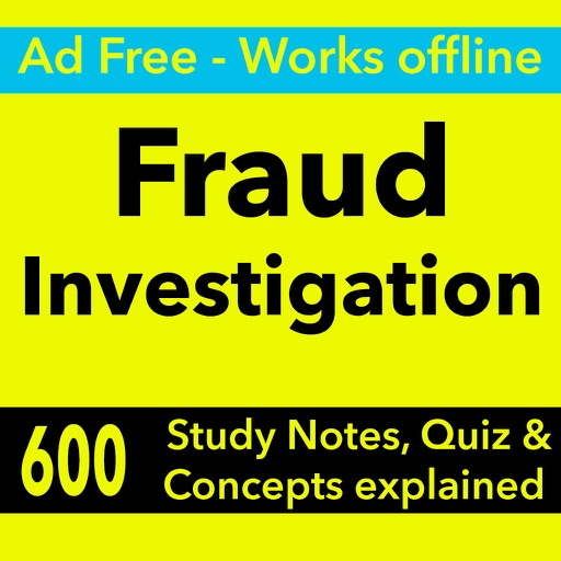 Fraud Investigation Exam Review : Quiz & concepts
