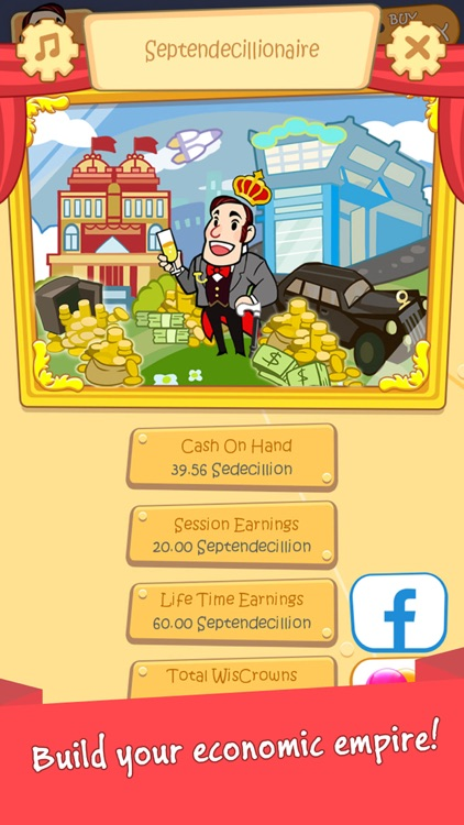 Richman Adventure - Idle Clicker Games of Money screenshot-1
