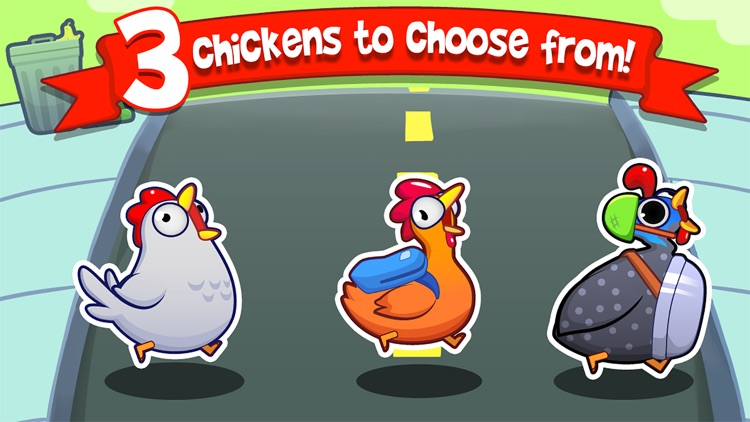 Chicken Toss - Chickens on the Run screenshot-4