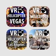 VR Virtual Reality Bundle 5 - Helicopter Firework Vienna Motorshow IAA Roller Coaster