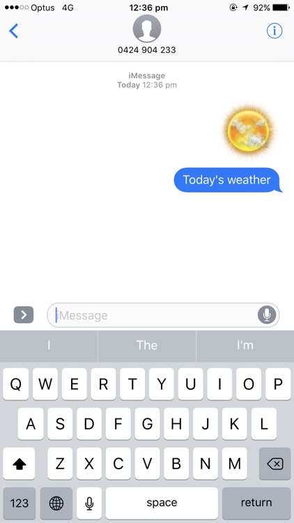 Weather Stickers for Message screenshot-3