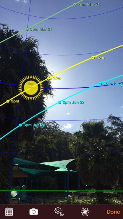 Sun Seeker: 3D Augmented Reality Viewer app image