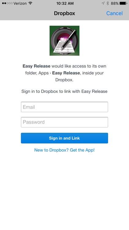 Easy Release - Model Release App screenshot-4