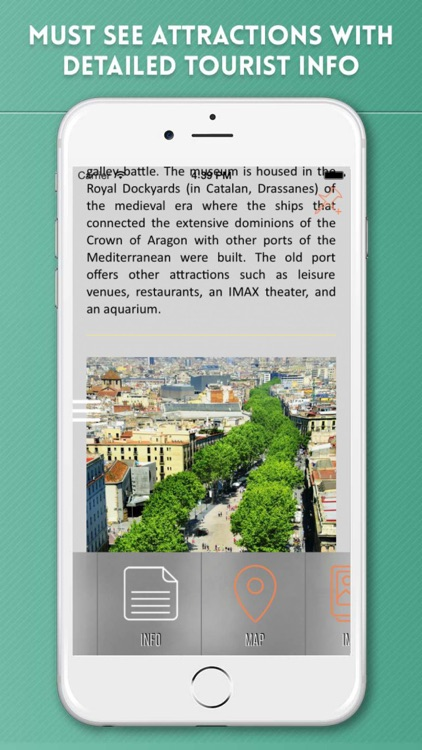 Barcelona City Guide & Offline Travel Map screenshot-2