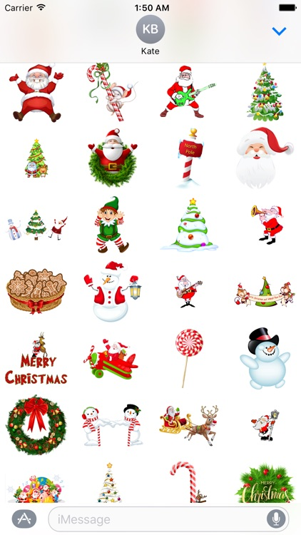 Funny Christmas Stickers for iMessage screenshot-3