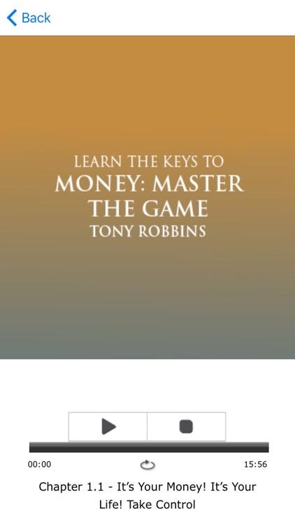 Money: Master The Game by Tony Robbins Meditation screenshot-3