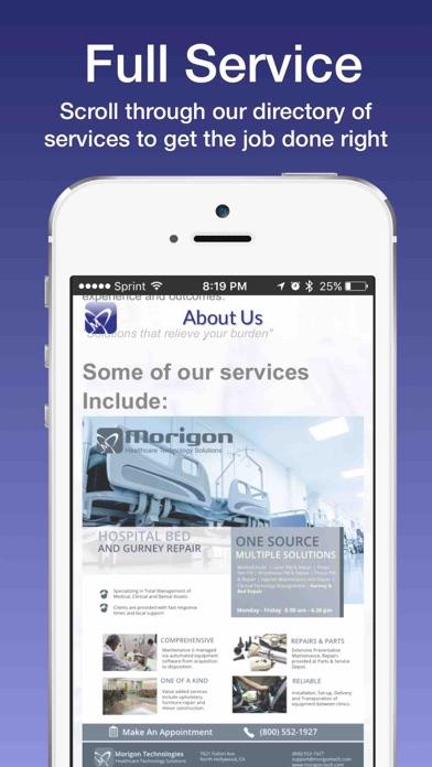 Morigon Tech screenshot 3
