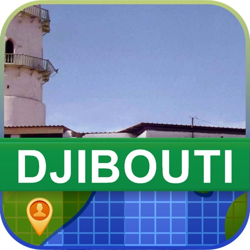 Offline Djibouti Map - World Offline Maps