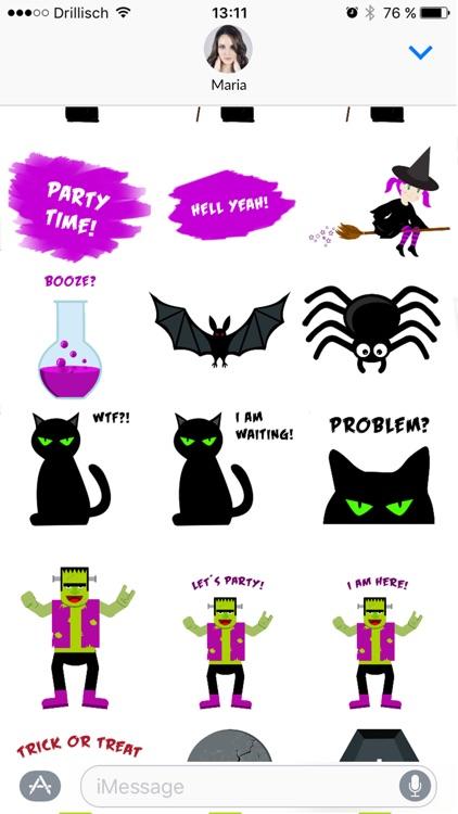 Grusel - Halloween Stickers screenshot-4