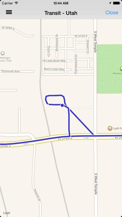 Transit Tracker - Utah (UTA) app image