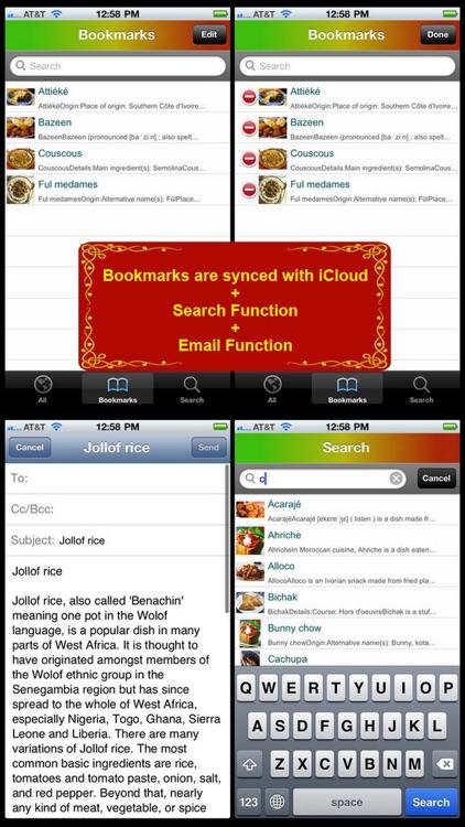 African Cuisine Bible screenshot-4
