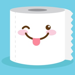 Cute Toilet Paper Stickers