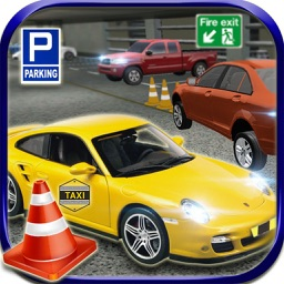 City Mall Taxi Parking 3d : free simulation game