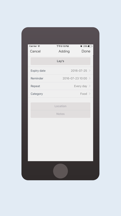 ExpiryNote - Reduce waste and saving money screenshot two