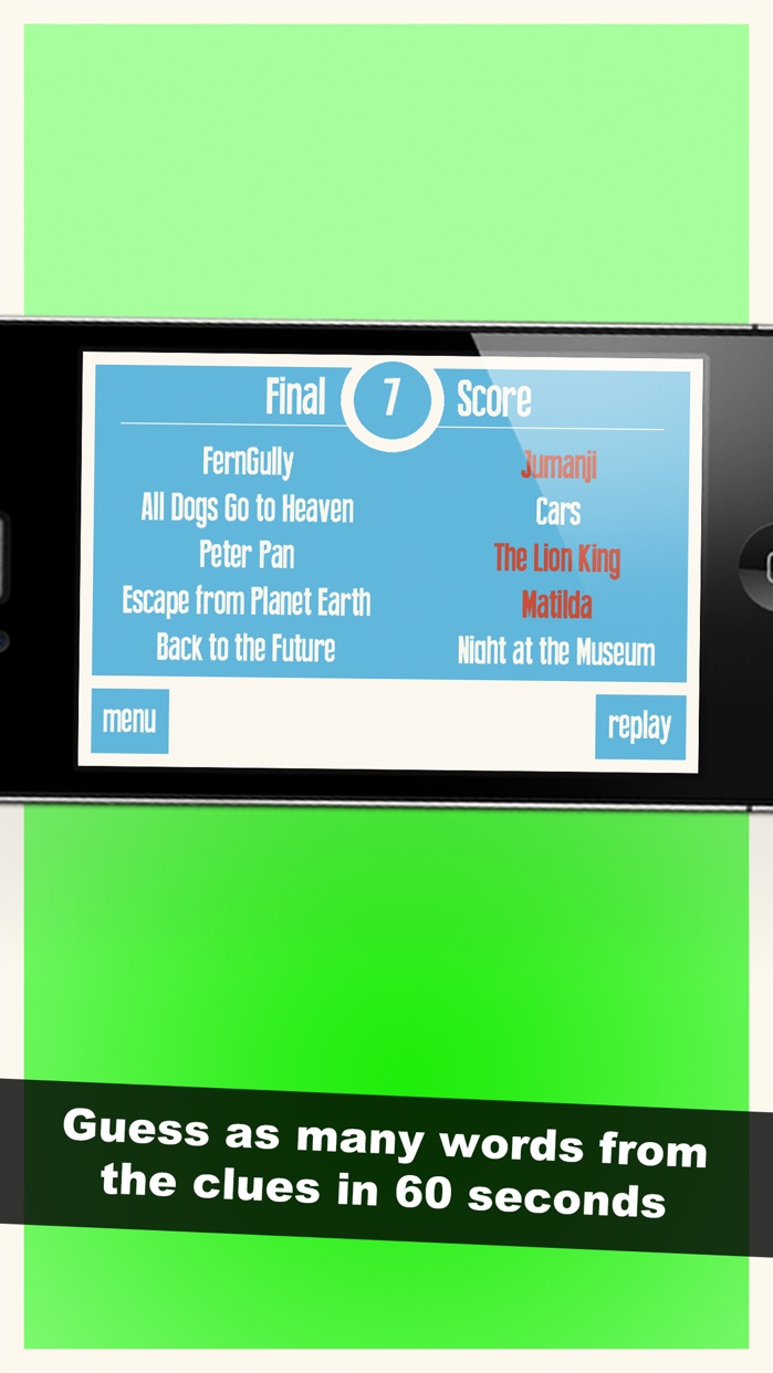 Charades! Guess Words with Kids Screenshot