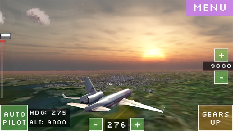 Flight World Simulator screenshot-2