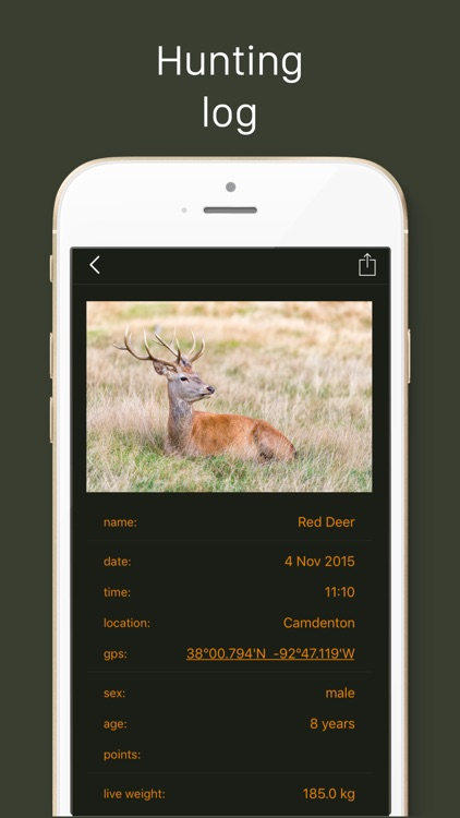 Hunting Calendar screenshot-1