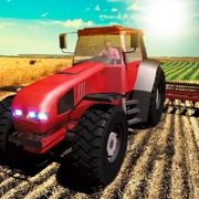 农业模拟器2017 PRO:农夫拖拉机收获