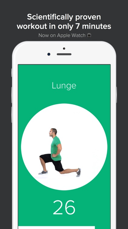 Quick Fit - 7 Minute Workout, Abs, and Yoga screenshot-0