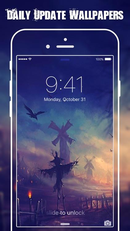 HD Halloween Wallpapers & Backgrounds Free screenshot-3