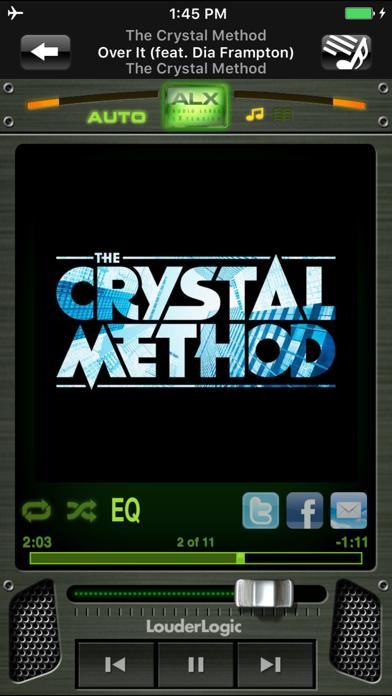LouderLogic Free screenshot